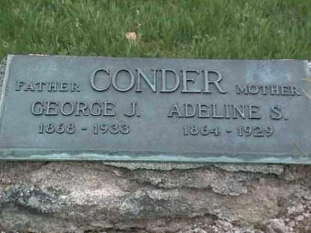 CONDER, GEORGE J. - Mahoning County, Ohio | GEORGE J. CONDER - Ohio Gravestone Photos