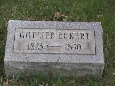 ECKERT, GOTLIEB - Mahoning County, Ohio | GOTLIEB ECKERT - Ohio Gravestone Photos