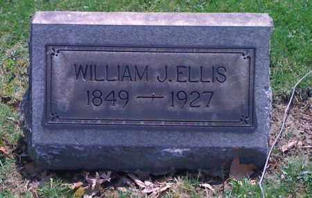 ELLIS, WILLIAM J - Mahoning County, Ohio | WILLIAM J ELLIS - Ohio Gravestone Photos