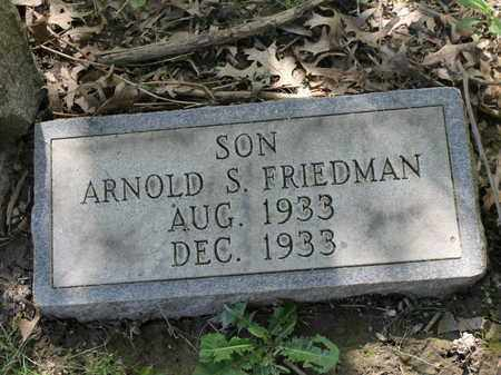 FRIEDMAN, ARNOLD - Mahoning County, Ohio | ARNOLD FRIEDMAN - Ohio Gravestone Photos