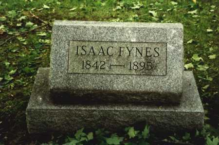 FYNES, ISAAC - Mahoning County, Ohio | ISAAC FYNES - Ohio Gravestone Photos