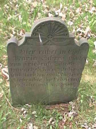 GAFFRE, MARIA SIBRAN - Mahoning County, Ohio | MARIA SIBRAN GAFFRE - Ohio Gravestone Photos