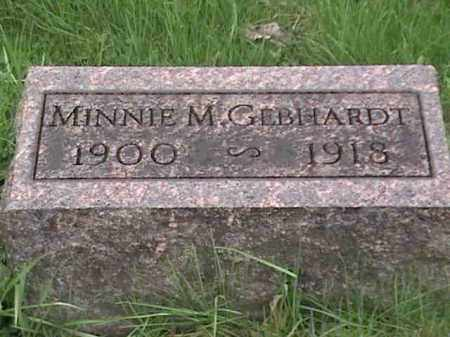 GEBHARDT, MINNIE M. - Mahoning County, Ohio | MINNIE M. GEBHARDT - Ohio Gravestone Photos