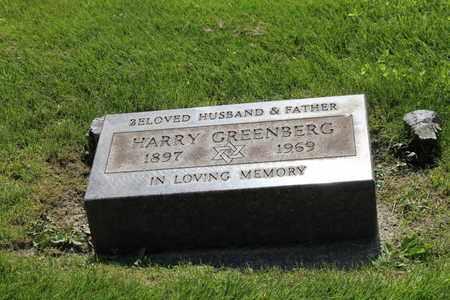 GREENBERG, HARRY - Mahoning County, Ohio | HARRY GREENBERG - Ohio Gravestone Photos