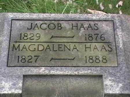 HAAS, JACOB - Mahoning County, Ohio | JACOB HAAS - Ohio Gravestone Photos