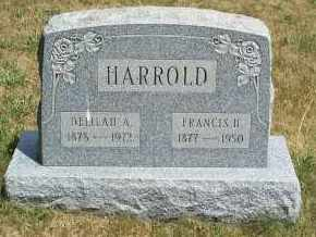 HARROLD, FRANCIS H. - Mahoning County, Ohio | FRANCIS H. HARROLD - Ohio Gravestone Photos