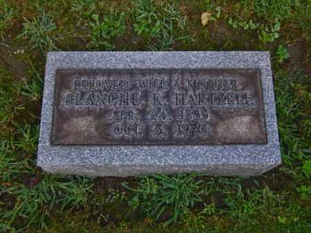 KAUFFMAN HARTZELL, BLANCHE - Mahoning County, Ohio | BLANCHE KAUFFMAN HARTZELL - Ohio Gravestone Photos