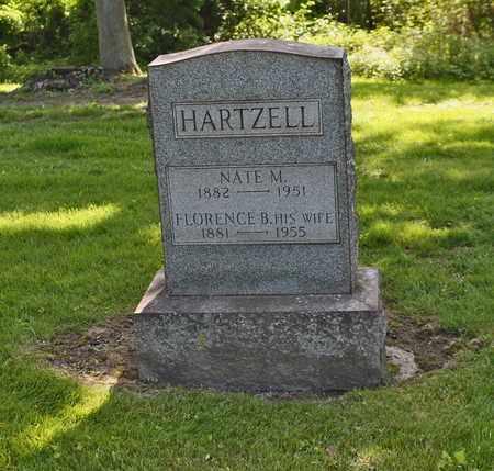 HARTZELL, FLORENCE - Mahoning County, Ohio | FLORENCE HARTZELL - Ohio Gravestone Photos