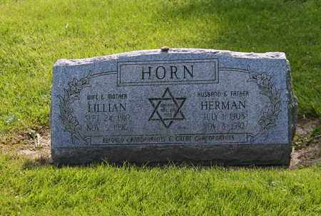HORN, HERMAN - Mahoning County, Ohio | HERMAN HORN - Ohio Gravestone Photos