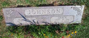 JOHNSON, GRACE VENIE - Mahoning County, Ohio | GRACE VENIE JOHNSON - Ohio Gravestone Photos