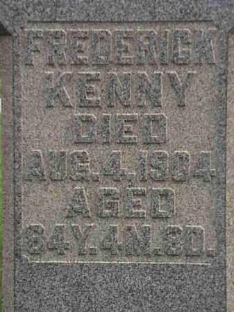 KENNY, FREDERICK - Mahoning County, Ohio | FREDERICK KENNY - Ohio Gravestone Photos