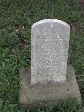 KLDEPFER, FREDERKIA - Mahoning County, Ohio | FREDERKIA KLDEPFER - Ohio Gravestone Photos