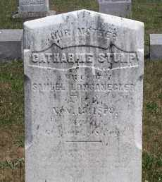 STUMP LONGANECKER, CATHARINE - Mahoning County, Ohio | CATHARINE STUMP LONGANECKER - Ohio Gravestone Photos