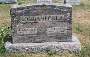 LONGANECKER, E. LEANDER - Mahoning County, Ohio | E. LEANDER LONGANECKER - Ohio Gravestone Photos