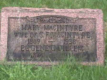 MACINTYRE, MARY - Mahoning County, Ohio | MARY MACINTYRE - Ohio Gravestone Photos