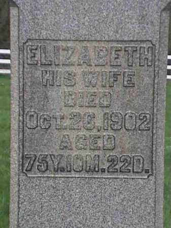 MAUGH, ELIZABETH - Mahoning County, Ohio | ELIZABETH MAUGH - Ohio Gravestone Photos