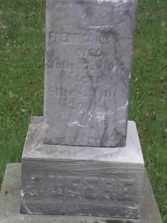 QUEERE, FREDRICH - Mahoning County, Ohio | FREDRICH QUEERE - Ohio Gravestone Photos