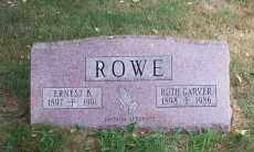 GARVER ROWE, RUTH - Mahoning County, Ohio | RUTH GARVER ROWE - Ohio Gravestone Photos