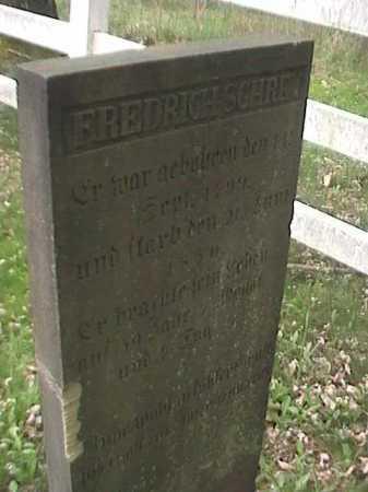 SCHREY, FREDRICH - Mahoning County, Ohio | FREDRICH SCHREY - Ohio Gravestone Photos