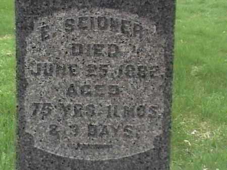 SEIDNER, E. - Mahoning County, Ohio | E. SEIDNER - Ohio Gravestone Photos