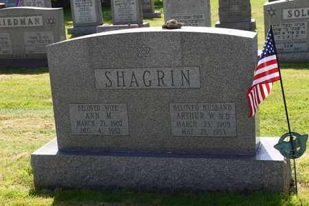SHAGRIN, ANN - Mahoning County, Ohio | ANN SHAGRIN - Ohio Gravestone Photos