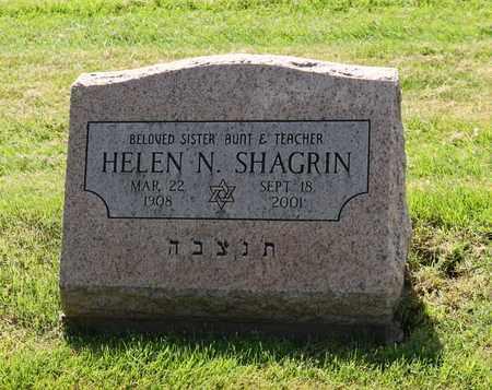 SHAGRIN, HELEN - Mahoning County, Ohio | HELEN SHAGRIN - Ohio Gravestone Photos