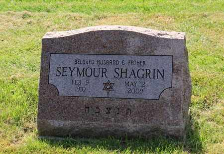 SHAGRIN, SEYMOUR - Mahoning County, Ohio | SEYMOUR SHAGRIN - Ohio Gravestone Photos