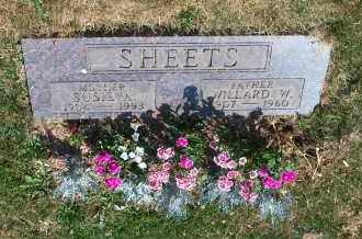 PRATER SHEETS, SUSIE A. - Mahoning County, Ohio | SUSIE A. PRATER SHEETS - Ohio Gravestone Photos