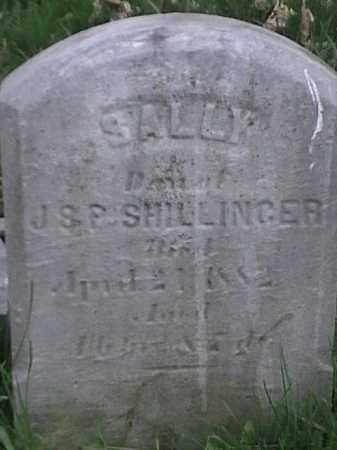 SHILLINGER, SALLY - Mahoning County, Ohio | SALLY SHILLINGER - Ohio Gravestone Photos