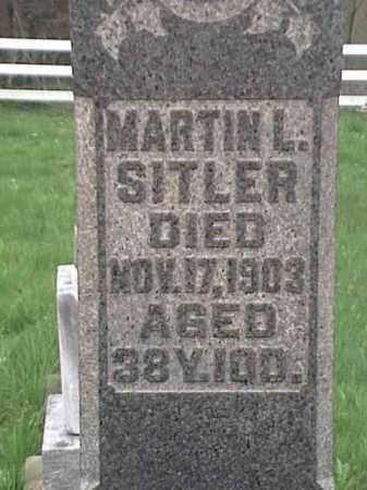 SITLER, MARTIN L. - Mahoning County, Ohio | MARTIN L. SITLER - Ohio Gravestone Photos