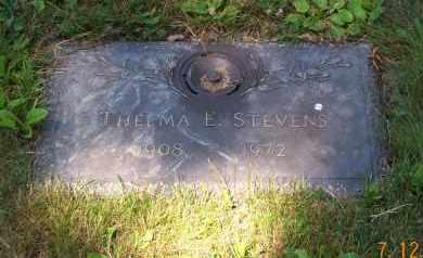 STEVENS, THELMA ELIZABETH - Mahoning County, Ohio | THELMA ELIZABETH STEVENS - Ohio Gravestone Photos