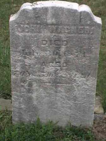 WAGNER, JOHN - Mahoning County, Ohio | JOHN WAGNER - Ohio Gravestone Photos