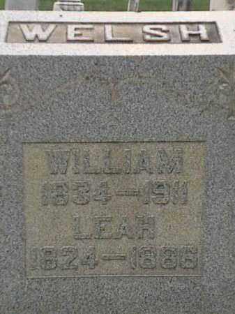 WELSH, WILLIAM - Mahoning County, Ohio | WILLIAM WELSH - Ohio Gravestone Photos
