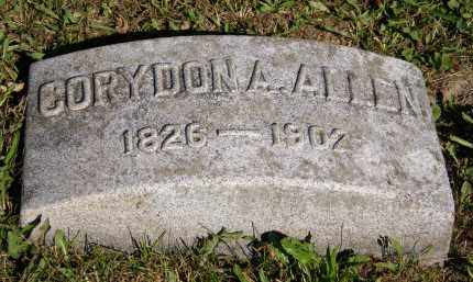 ALLEN, CORYDON A. - Marion County, Ohio | CORYDON A. ALLEN - Ohio Gravestone Photos