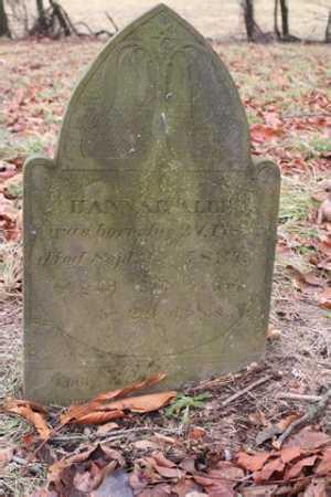 ALLEN, HANNAH - Marion County, Ohio | HANNAH ALLEN - Ohio Gravestone Photos