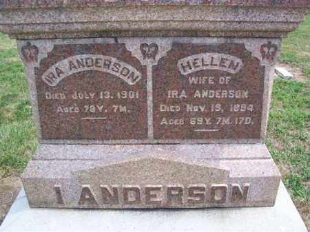 ANDERSON, IRA - Marion County, Ohio | IRA ANDERSON - Ohio Gravestone Photos