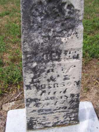 ANDERSON, JOHN H - Marion County, Ohio | JOHN H ANDERSON - Ohio Gravestone Photos