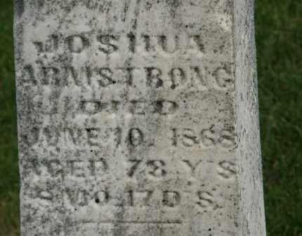 ARMSTRONG, JOSHUA - Marion County, Ohio | JOSHUA ARMSTRONG - Ohio Gravestone Photos