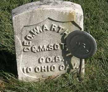 ARTHUR, GEO. W. - Marion County, Ohio | GEO. W. ARTHUR - Ohio Gravestone Photos