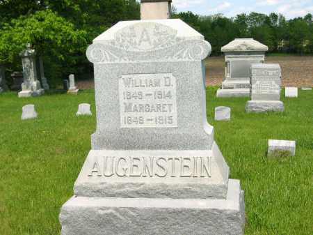 AUGENSTEIN, WILLIAM D. - Marion County, Ohio | WILLIAM D. AUGENSTEIN - Ohio Gravestone Photos