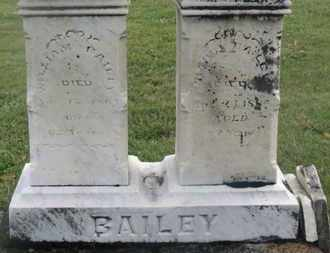 BAILEY, WILLIAM - Marion County, Ohio | WILLIAM BAILEY - Ohio Gravestone Photos