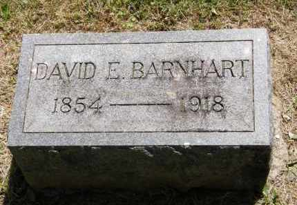 BARNHART, DAVID E. - Marion County, Ohio | DAVID E. BARNHART - Ohio Gravestone Photos