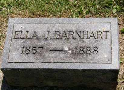 BARNHART, ELLA J. - Marion County, Ohio | ELLA J. BARNHART - Ohio Gravestone Photos