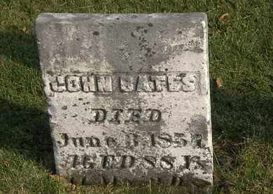 BATES, JOHN - Marion County, Ohio | JOHN BATES - Ohio Gravestone Photos