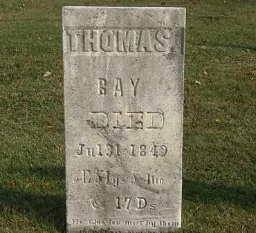 BAY, THOMAS - Marion County, Ohio | THOMAS BAY - Ohio Gravestone Photos