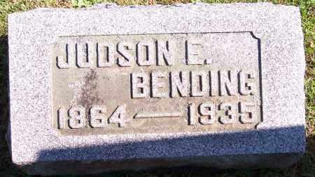BENDING, JUDSON ELRAY - Marion County, Ohio | JUDSON ELRAY BENDING - Ohio Gravestone Photos