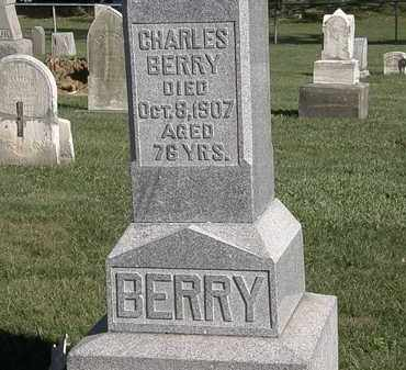 BERRY, CHARLES - Marion County, Ohio | CHARLES BERRY - Ohio Gravestone Photos