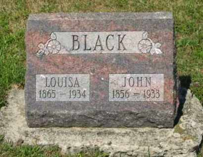 BLACK, LOUISA - Marion County, Ohio | LOUISA BLACK - Ohio Gravestone Photos