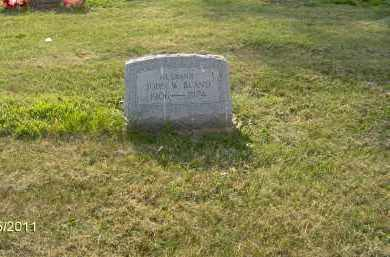 BLAND, JOHN W - Marion County, Ohio | JOHN W BLAND - Ohio Gravestone Photos