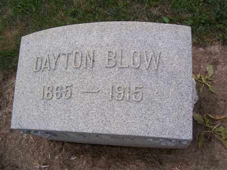 BLOW, DAYTON - Marion County, Ohio | DAYTON BLOW - Ohio Gravestone Photos